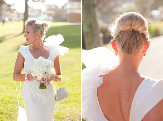 Chic wedding updo Wedding Hair Inspiration Sleek And Stylish Up Dos