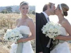 Sleek and stylish wedding hair