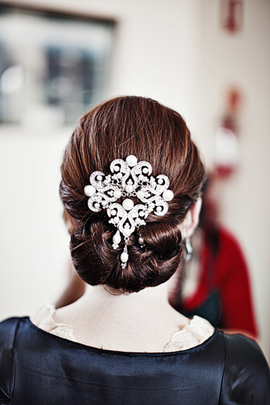 Wedding Updo Wedding Hair Inspiration Sleek And Stylish Up Dos