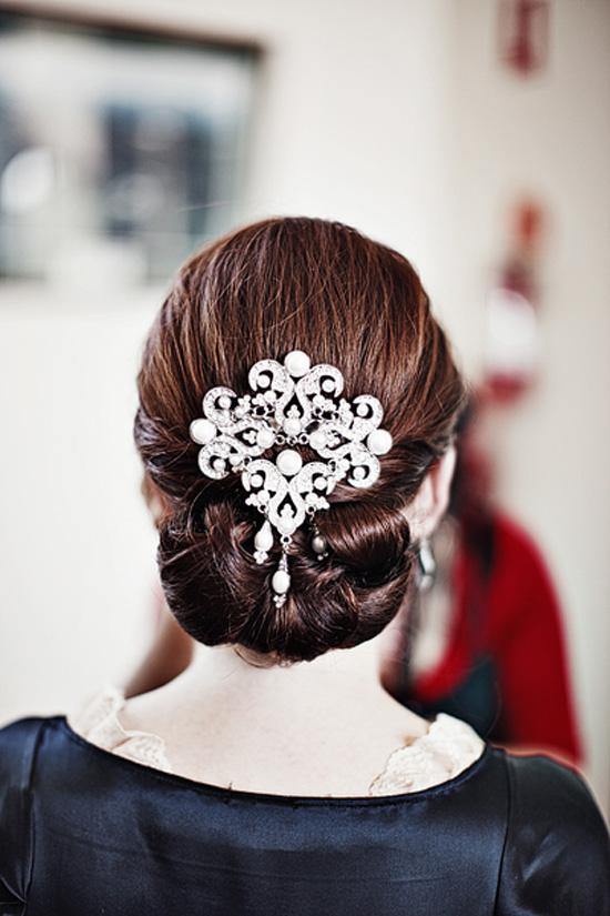 Wedding Updo Wedding Hair Inspiration Sleek And Stylish Up Dos