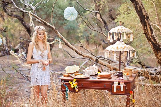 bohemian wedding inspiration049 Beach Bohemian Wedding Inspiration