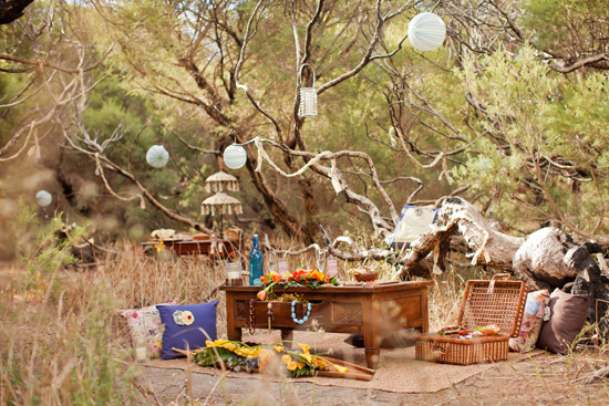 bohemian wedding inspiration070 Beach Bohemian Wedding Inspiration