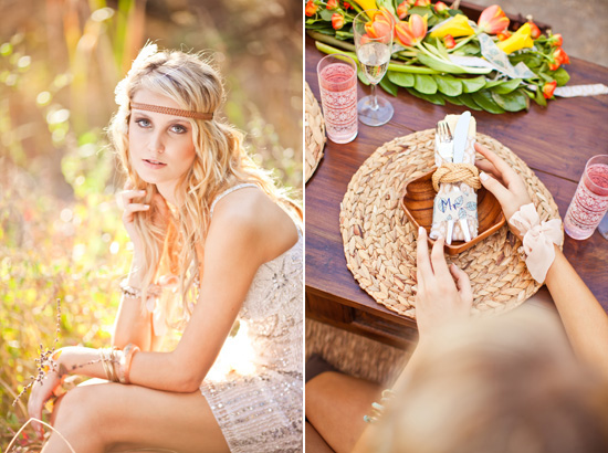 bohemian wedding inspiration153 Beach Bohemian Wedding Inspiration
