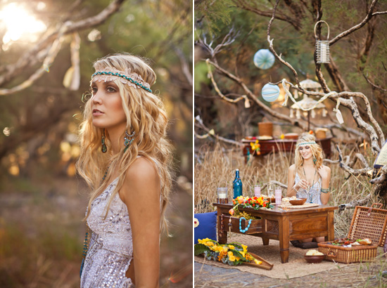 bohemian wedding inspiration158 Beach Bohemian Wedding Inspiration