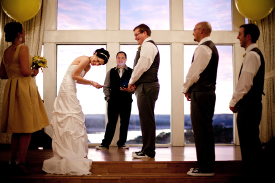 yellow austin wedding004 Amanda and Coreys Whimsical Austin Wedding