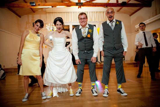 yellow austin wedding014 Amanda and Coreys Whimsical Austin Wedding