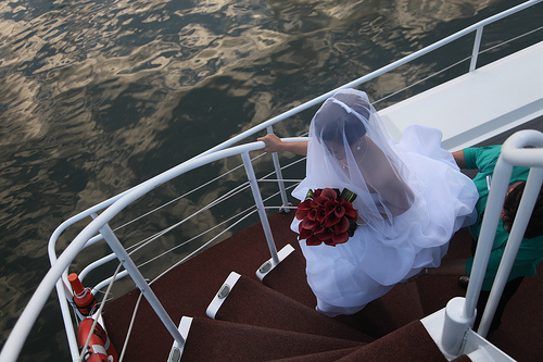 6054391277 7779883365 Ricky and Annes Yacht Wedding