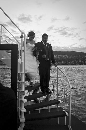 6060506335 02a4c156b4 Ricky and Annes Yacht Wedding