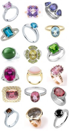 Coloured-Engagement-Rings