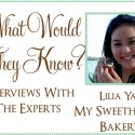 Lilia Yap My sweethearts bakery