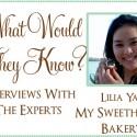 Lilia Yap My sweethearts bakery