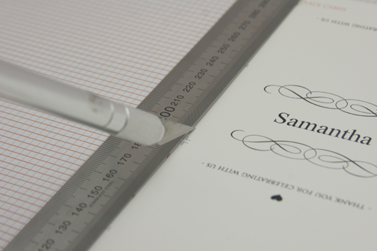 Place Card DIY Cutting FREE DIY Printable Place Card Template and Tutorial