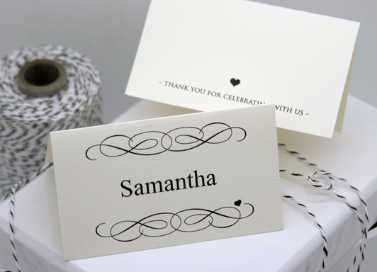 FREE DIY Printable Place Card Template And Tutorial