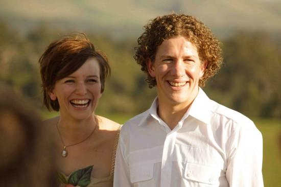 ceremony laid back 2 e1319709192812 A Florists Country Wedding Emma and Braden