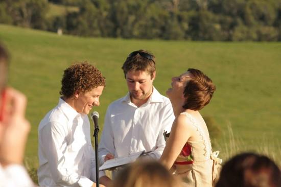 ceremony us marry 3 e1319709014781 A Florists Country Wedding Emma and Braden