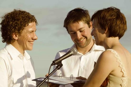 ceremony us marry cu e1319708995193 A Florists Country Wedding Emma and Braden