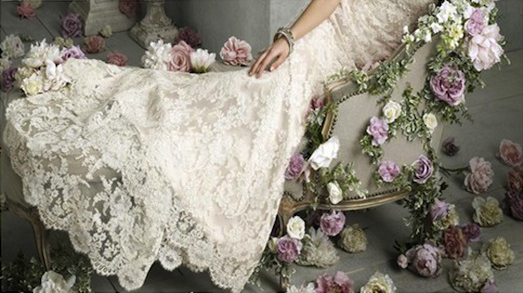 lace trend blog1 Wedding Dress Trends 2012