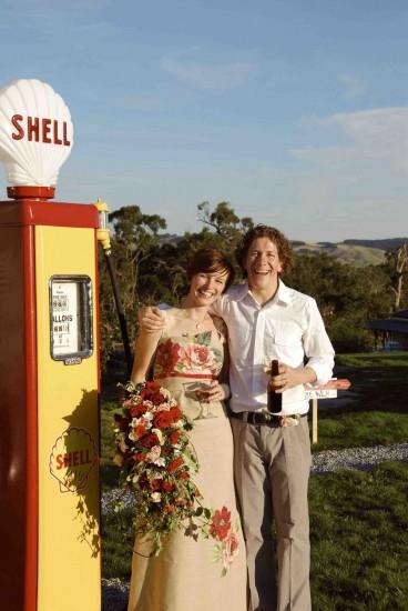 us retro e1319708248460 A Florists Country Wedding Emma and Braden