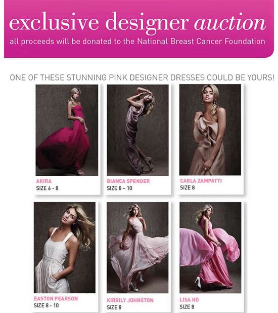 breast cancer foundation auction.jpg Friday Roundup