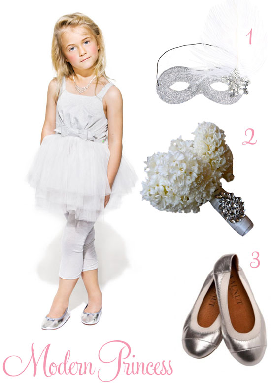 modern princess flowergirl look Flowergirl Style From Big By Fiona Scanlan