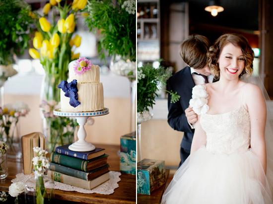 vintage wedding inspiration002 Vintage Glamour Wedding Inspiration Shoot Part Two