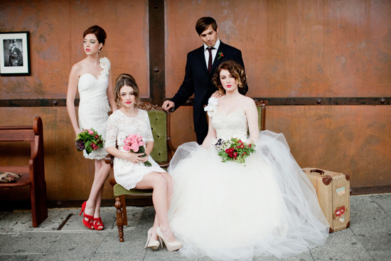 vintage wedding inspiration012 Vintage Glamour Wedding Inspiration Shoot Part Two