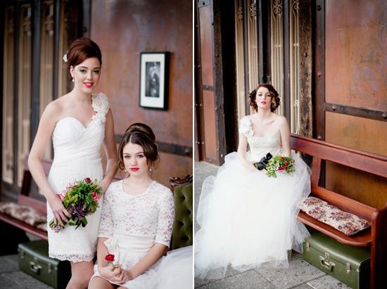 vintage wedding inspiration013 Vintage Glamour Wedding Inspiration Shoot Part Two