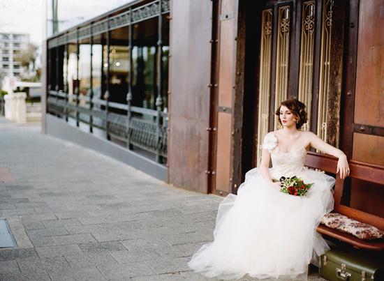 vintage wedding inspiration015 Vintage Glamour Wedding Inspiration Shoot Part Two