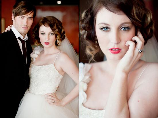 vintage wedding inspiration019 Vintage Glamour Wedding Inspiration Shoot Part Two