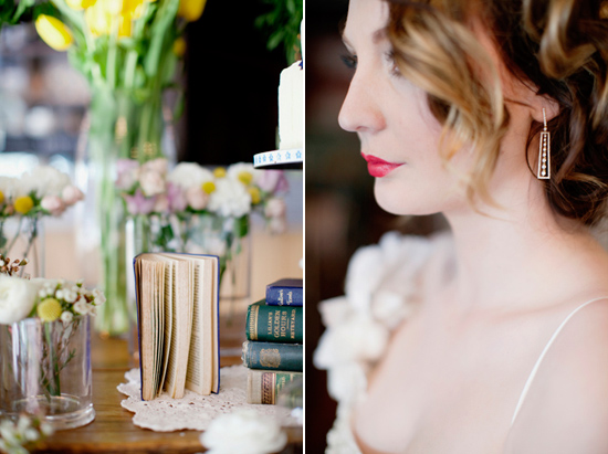 vintage wedding inspiration020 Vintage Glamour Wedding Inspiration Shoot Part Two