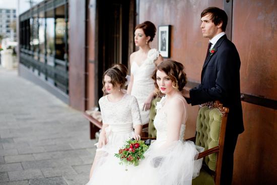vintage wedding inspiration024 Vintage Glamour Wedding Inspiration Shoot Part Two