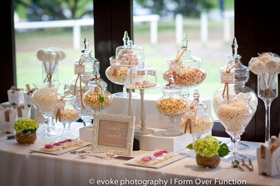 Wedding Buffet Table Setup Sugarcube set up a decadent