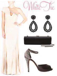 white tie wedding dress code