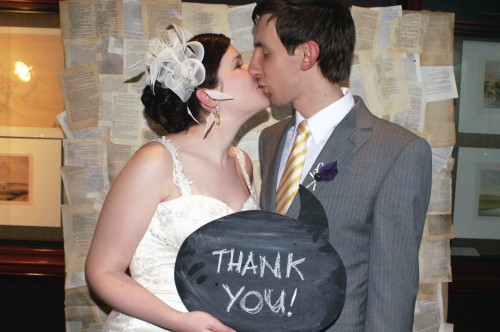 Photo booth 4 500x332 Chalkboard Speech Bubbles For Your Photo Booth