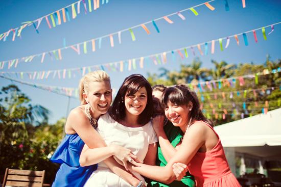 colourful backyard wedding098 Liz and Joels Fun Backyard Wedding