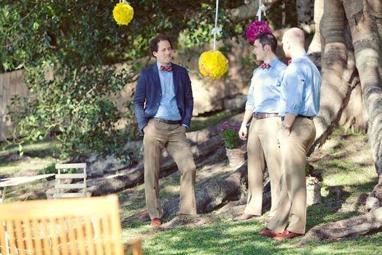 colourful backyard wedding159 Liz and Joels Fun Backyard Wedding