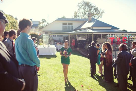 colourful backyard wedding191 Liz and Joels Fun Backyard Wedding
