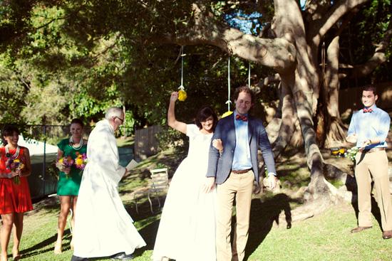 colourful backyard wedding243 Liz and Joels Fun Backyard Wedding