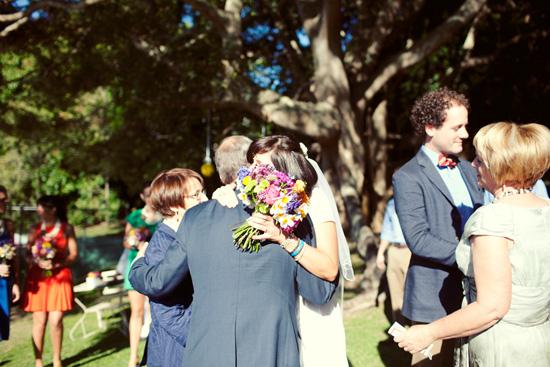 colourful backyard wedding247 Liz and Joels Fun Backyard Wedding