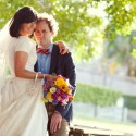 colourful backyard wedding381