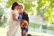 colourful backyard wedding381