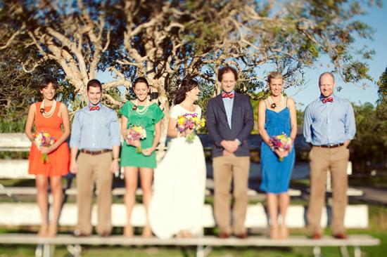 colourful backyard wedding426 Liz and Joels Fun Backyard Wedding