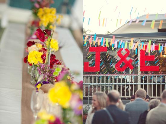 colourful backyard wedding611 Liz and Joels Fun Backyard Wedding