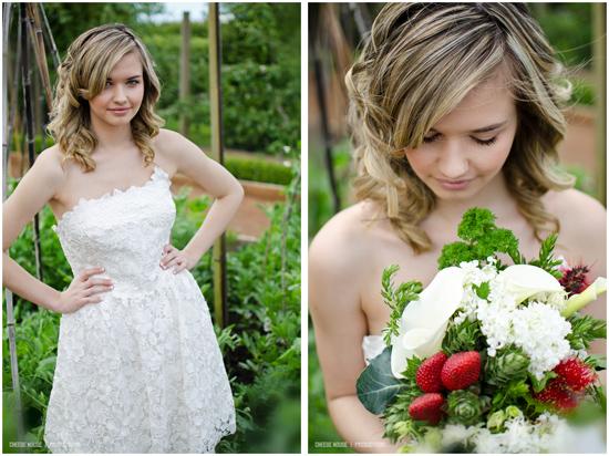 garden bridal inspiration017 Garden Bridal Inspiration