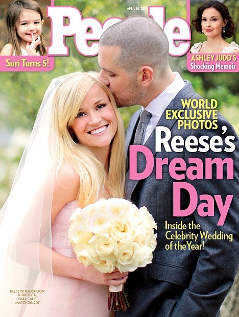 reese witherspoon wedding 2011 Celebrity Wedding Countdown