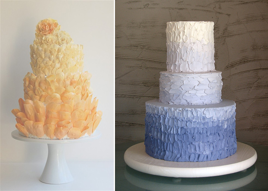 Ombre Wedding Cakes006 Ombre Wedding Cakes
