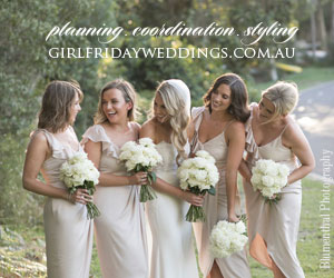 Girl Friday Weddings - Bride banner