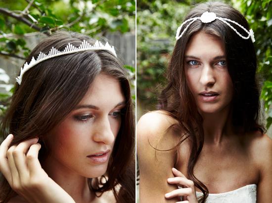 "bridal accessories by kristi bonnici003 Kristi Bonnici ""Sometimes A Whisper Is Enough"" Bridal Accessories Collection"