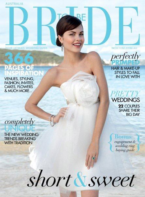 bride to be magazine cover Friday Roundup