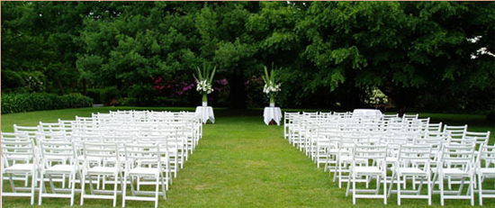 chateau yering wedding2 Ten Garden Wedding Venues In Victoria